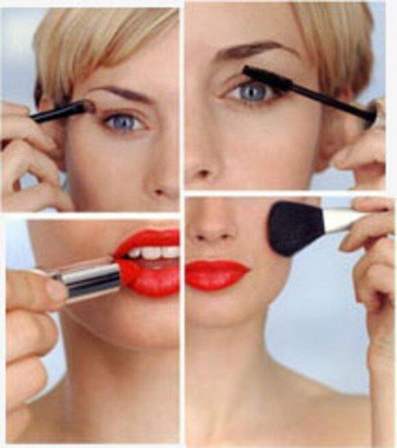 """3.  """"Искусство макияжа: дневной макияж, вечерний макияж """".  Вы всегда хотели научиться делать себе такой качественный..."""