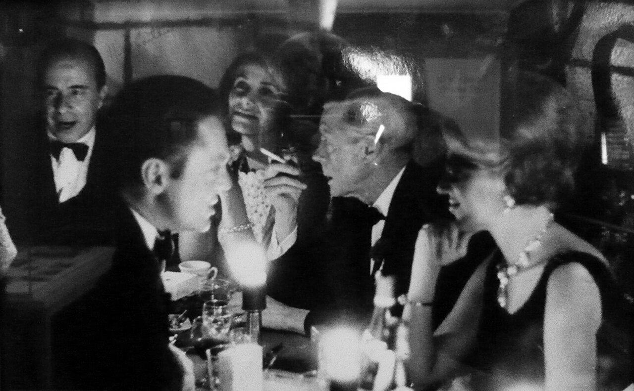 1972. Алексис де-Ред, Дейзи де Каброль, герцог Виндзорский и Мари-Элен де-Ротшильд