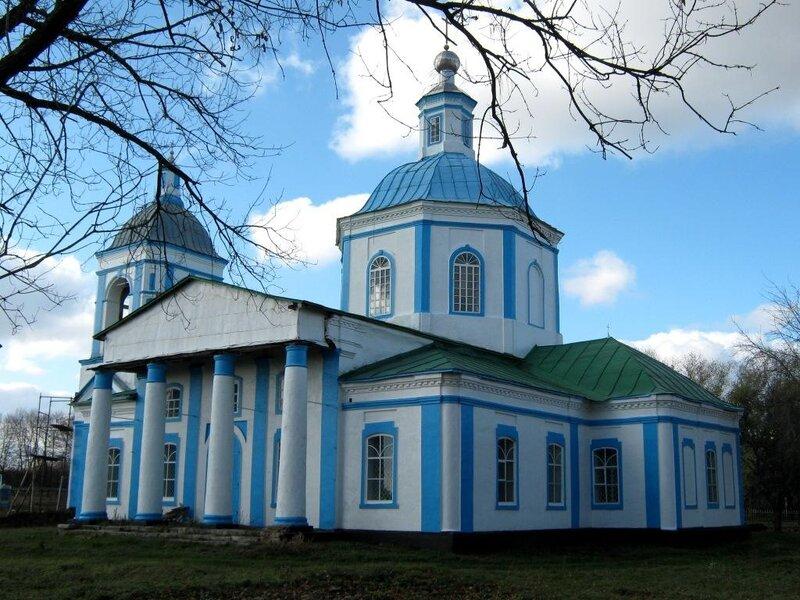 Старая Ольшанка. Церковь Троицы Живоначальной