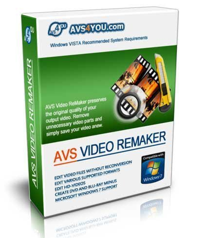 AVS Video ReMaker 4.0.8.140 ML / Русский