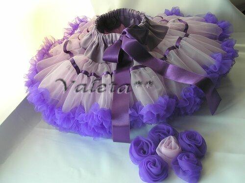 Цветы из ткани на юбку фото