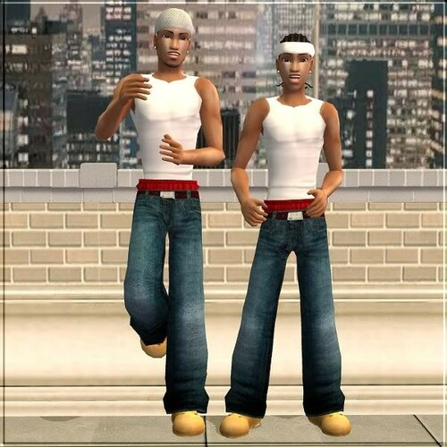 """Raver Remix *RE-VAMPED*: Teen and Adult Male """"Street"""" Clothes"""