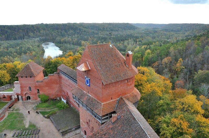 Золотая осень в Сигулде, Латвия. (фото-отчет)