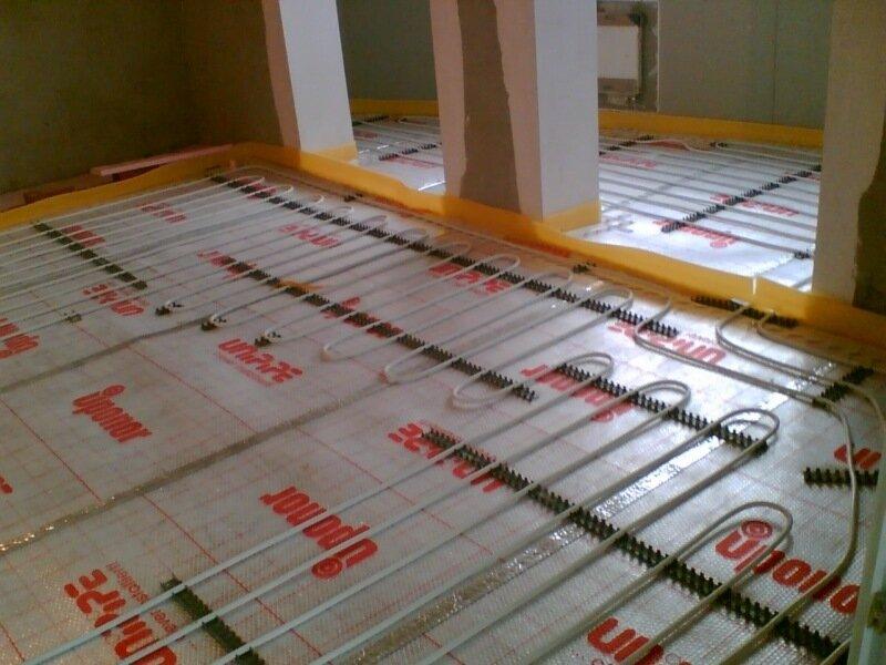 Установка радиаторов (биметалл, стальные), водяного теплого пола, комплектующие.