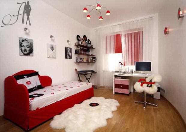 Мебель для комнаты девушки подростка должна быть не только удобной, но и кр