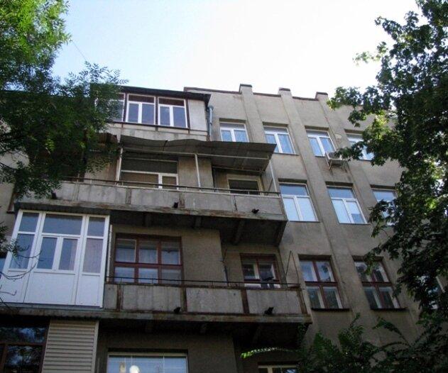 Дом Табачников - балкон