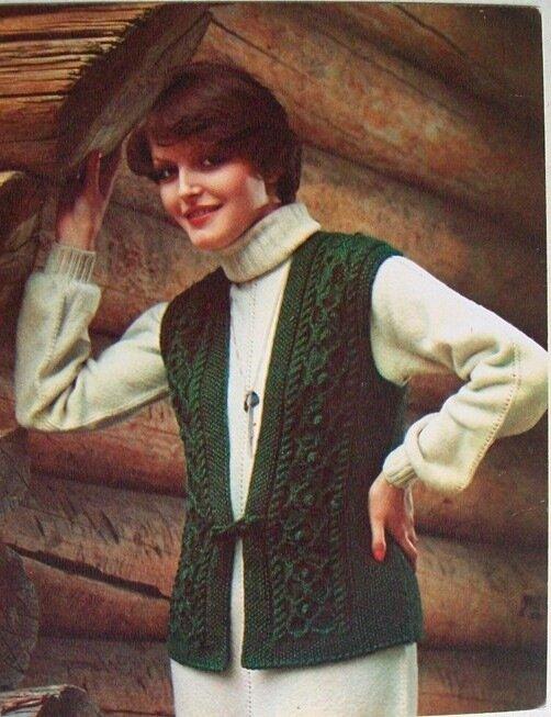 Бесплатные схемы вязания спицами дляВязание жилетов спицами для женщин с. Метки: вязание спицами вязание для женщин...