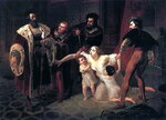 Смерть Инессы де Кастро, жены португальского инфанта Дона Педро (1834).jpg