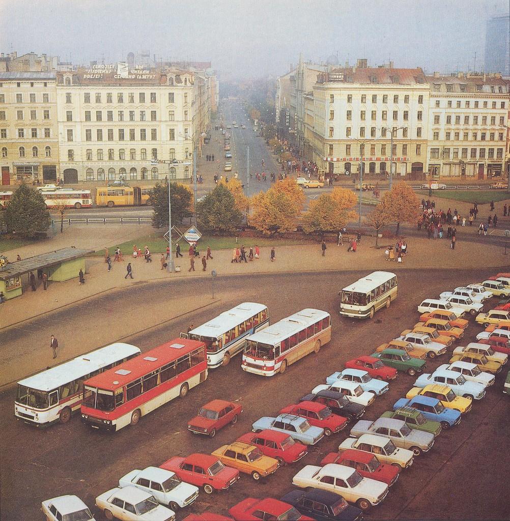 15. Вокзальная площадь и улица Гарлиба Меркеля.