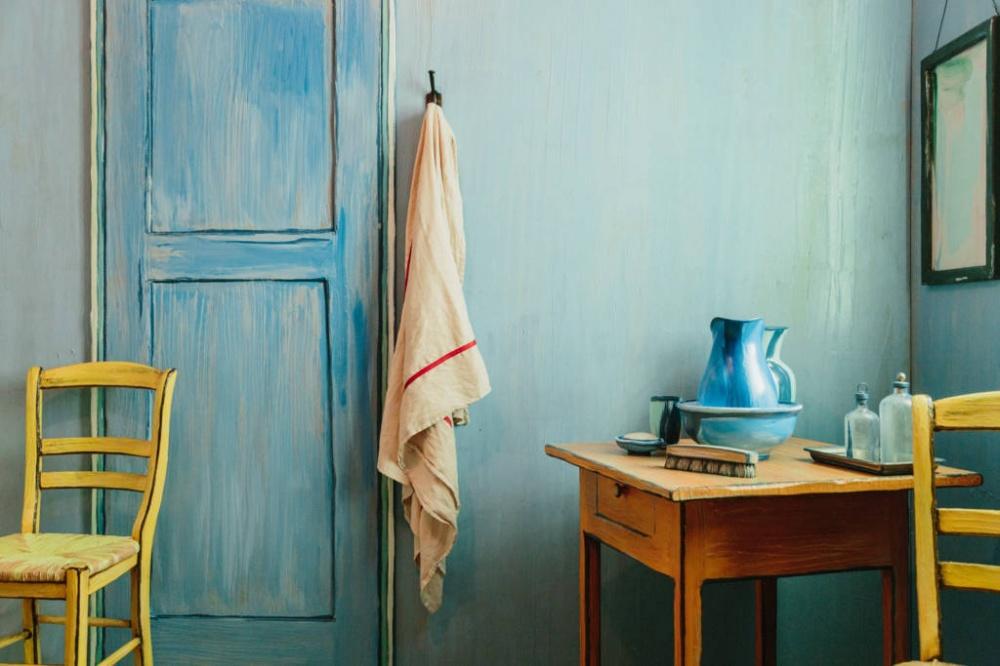ВЧикаго можно снять комнату, которая воссоздает спальню Ван Гога