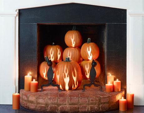 Хеллоуин - праздничный декор