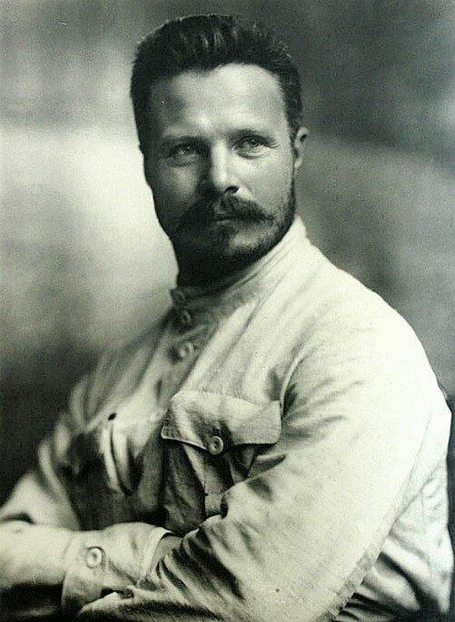 Михаил Васильевич  Фрунзе. Фото Пётр Оцуп. 1919 год