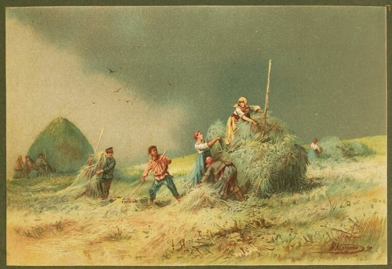 Н. Н. Каразин. Перед грозой. 1892