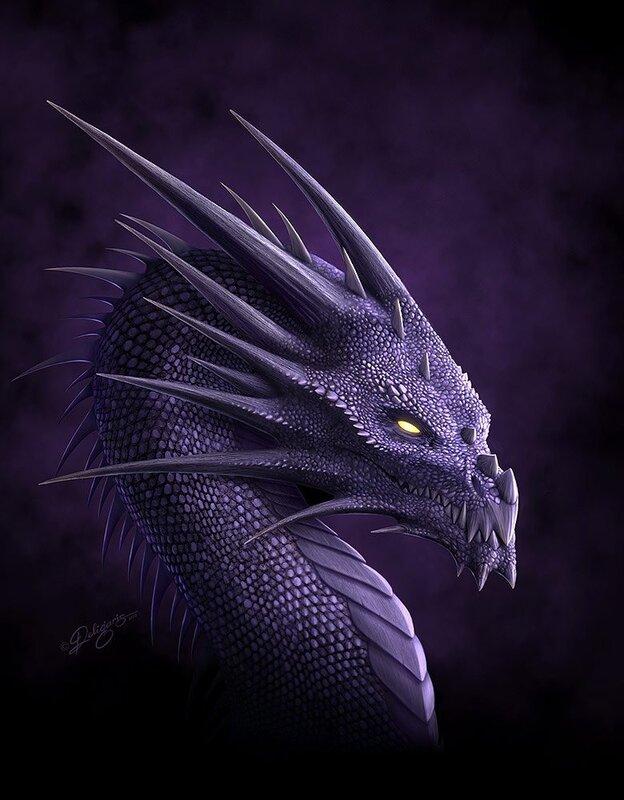Пурпурный дракон