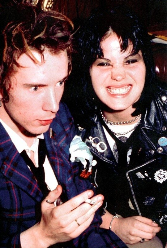 Johnny Rotten & Joan Jett