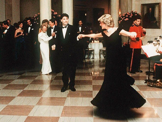 John Travolta & Princess Diana
