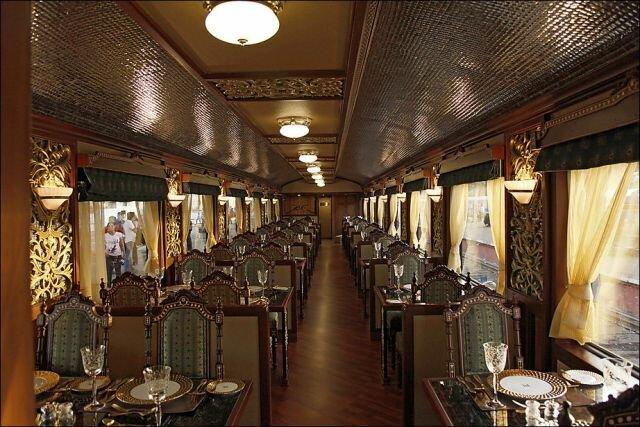 Шикарнейший поезд - Махараджа экспресс