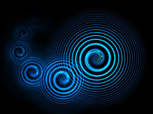 Фрактал спираль