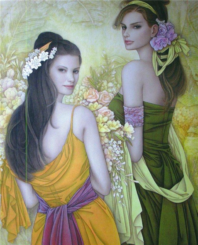 предпросмотр. таблица цветов. manyaanya.  Автор схемы.  0. оригинал.  Размеры: 170 x 188 крестов Картинки.