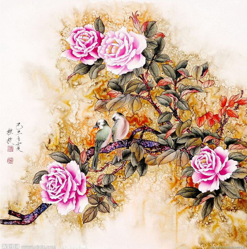 Автор картины Jin Hongjun (Чжин Хонгджун)