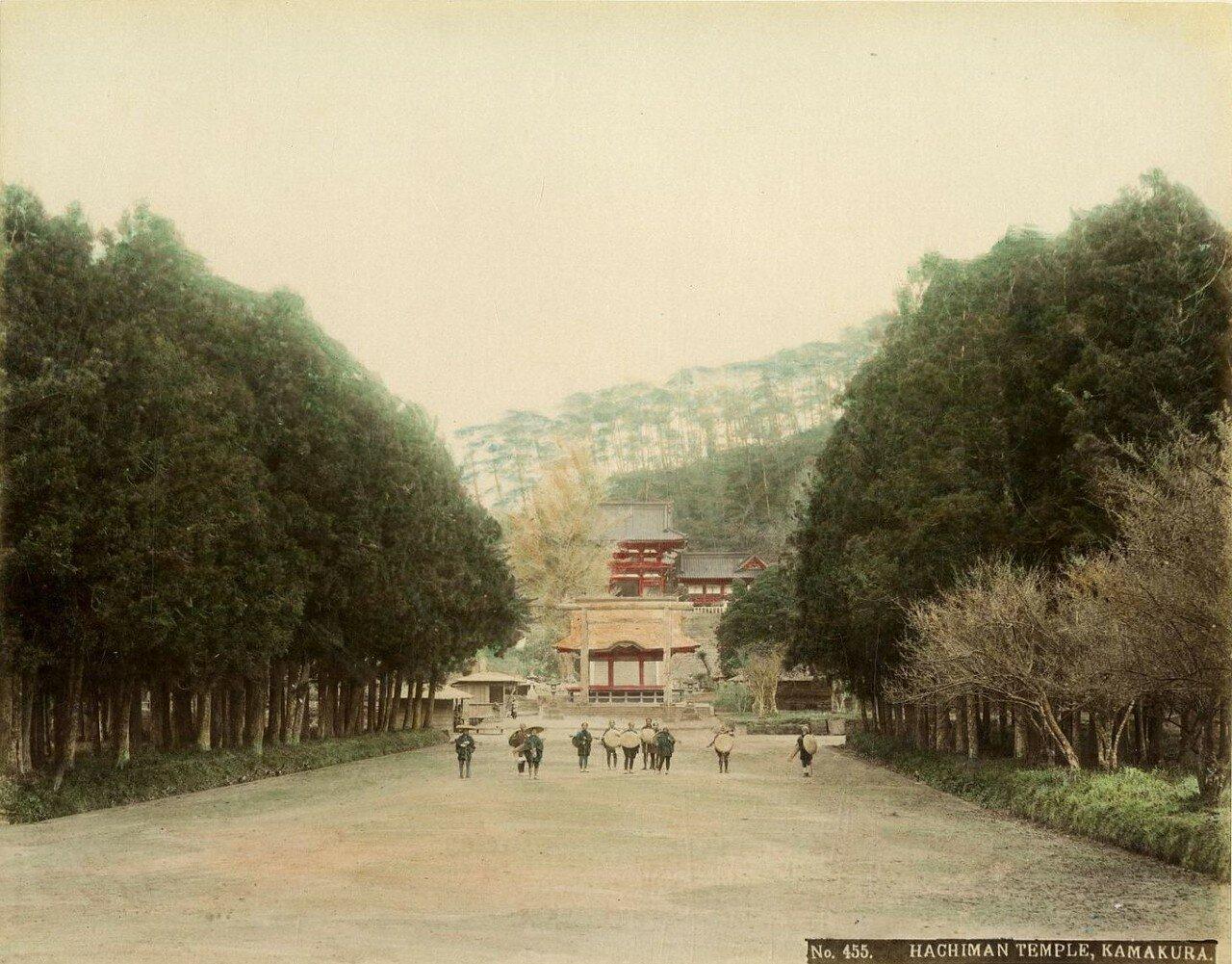 Камакура. Храм Цуругаока Хатиман