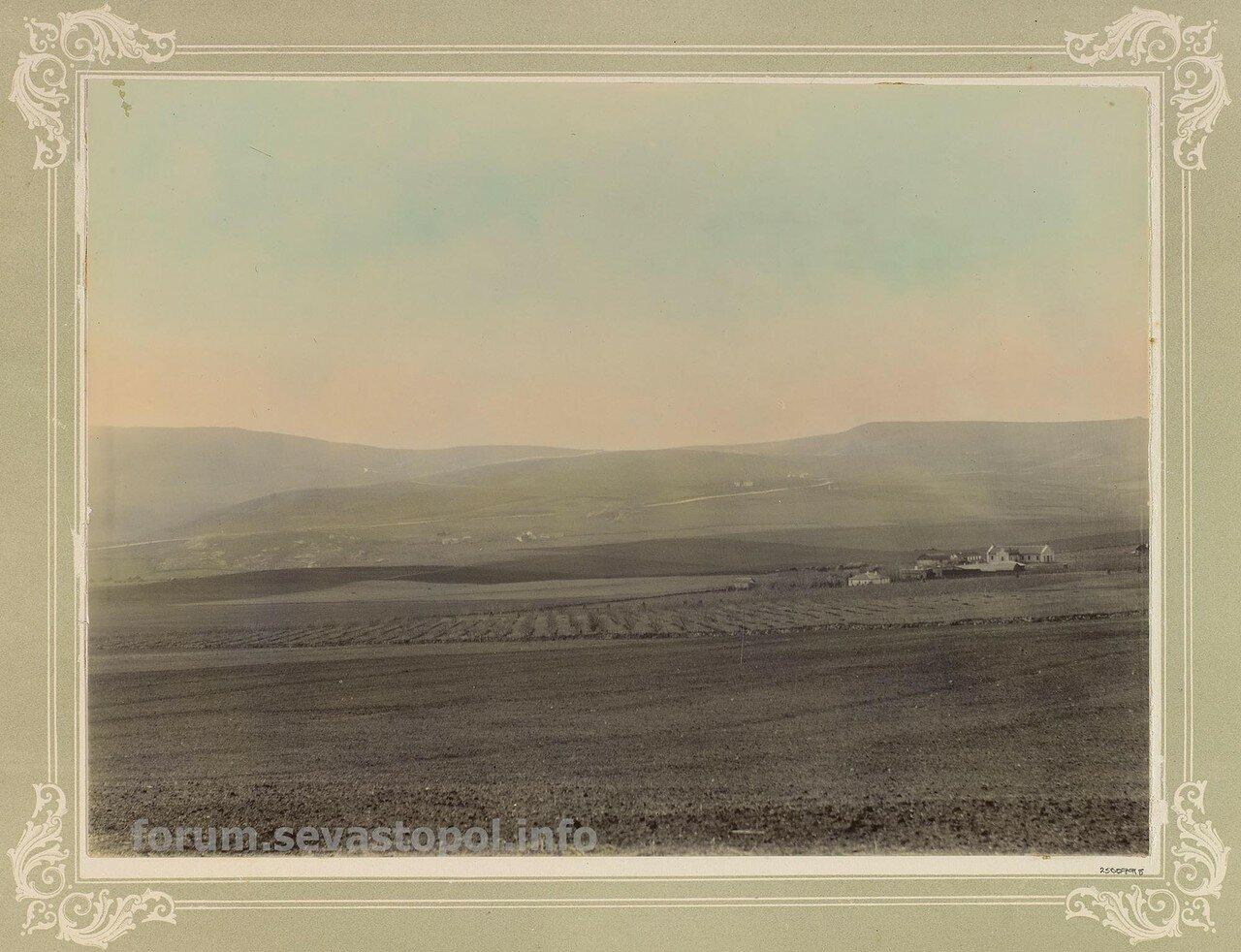 Продолжение поля Балаклавского сражения. Вид с севера