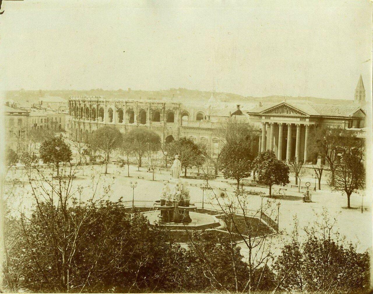Амфитеатр. Вид с площади.  1880-е