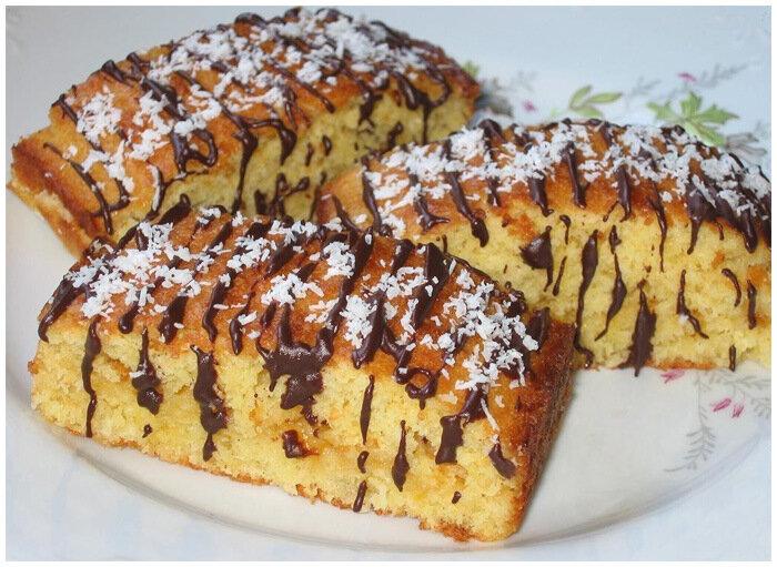 кокосовые пирожные с шоколадом фото рецепт