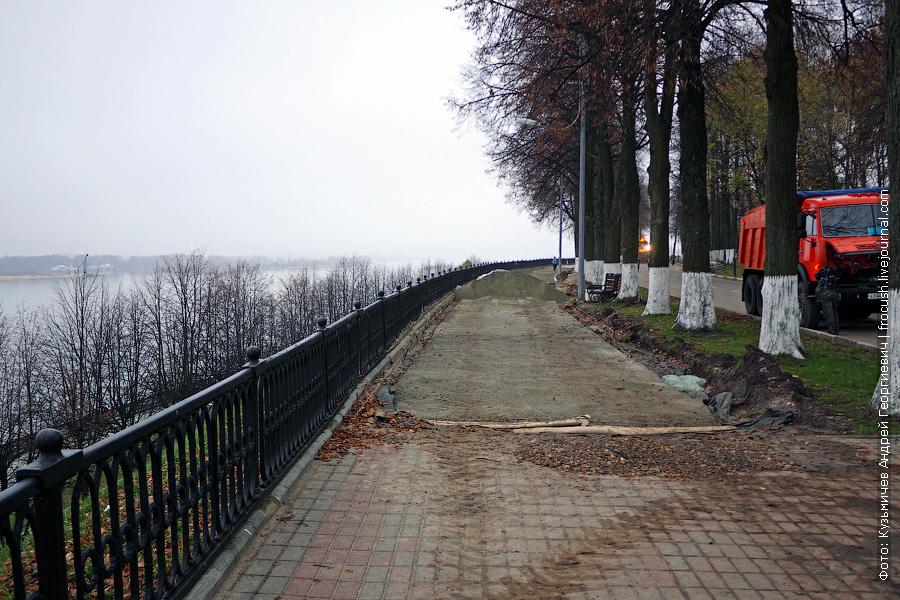 замена тротуарной плитки в Ярославле