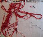 Рабочий стол макраме мастера, макраме, приспособления для плетения...
