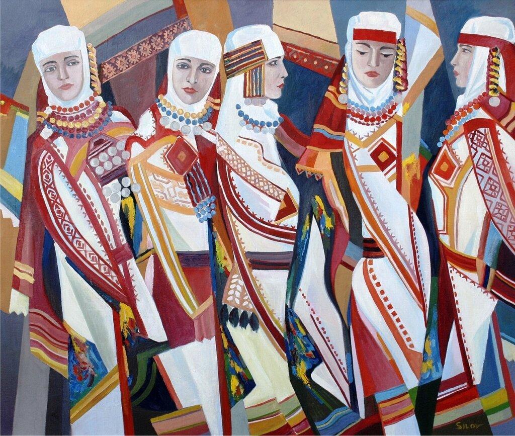 рисунок мордовские традиции качественная