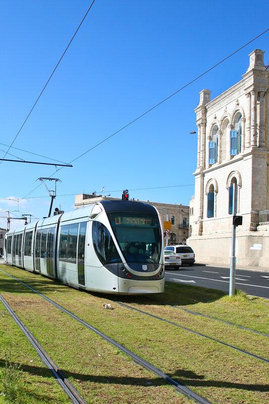 Первый израильский трамвай