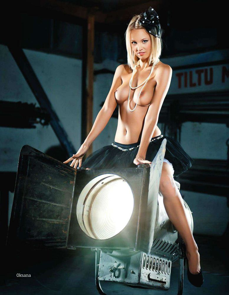 1-я годовщина журнала Playboy Латвия, октябрь 2011 - Оксана