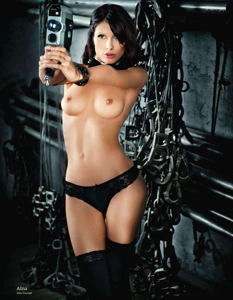 1-я годовщина журнала Playboy Латвия, октябрь 2011 - Алина
