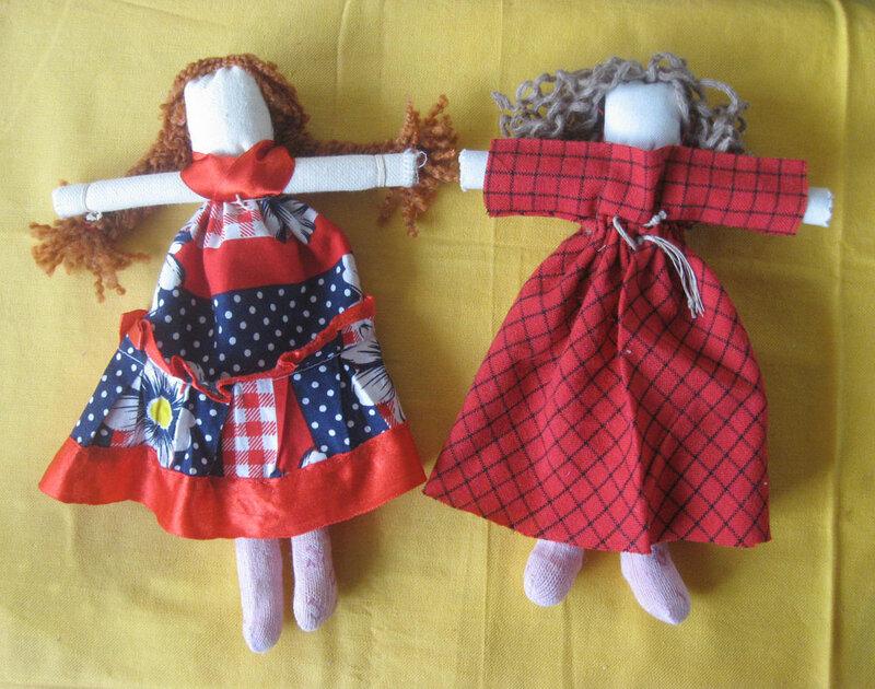 Игровые куклы из ткани 197
