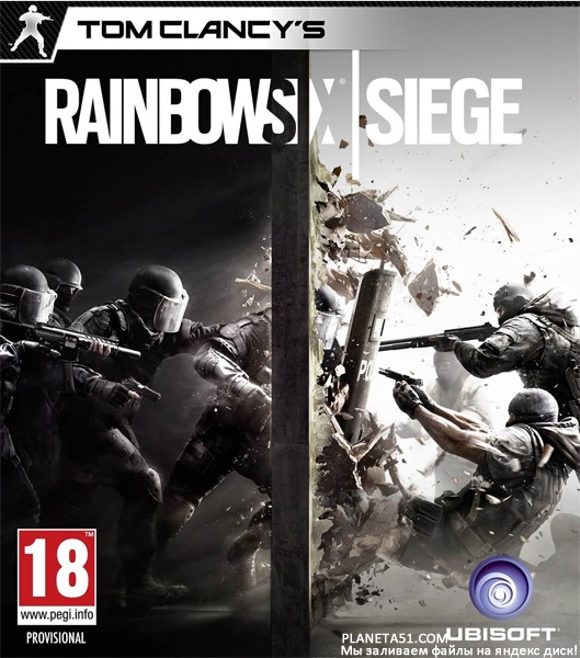 Tom Clancy's Rainbow Six® Siege (2015/ENG/MULTi14) + Репак