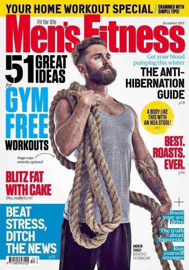 Книга Журнал: Mens Fitness №12 (декабрь 2015) UK