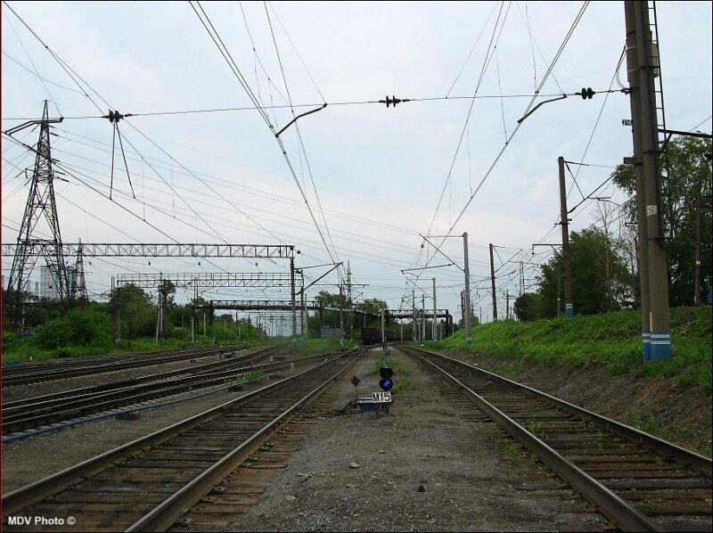 станции Шарташ, там где