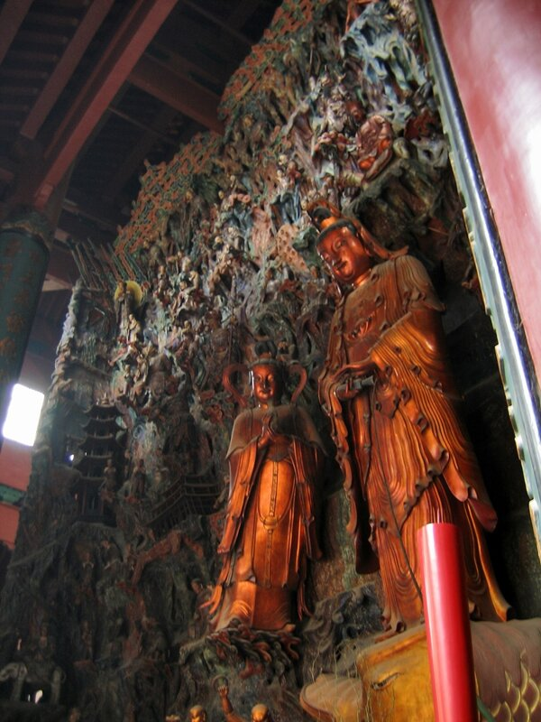 Гуаньинь и будды, Монастырь Линъиньсы, Ханчжоу