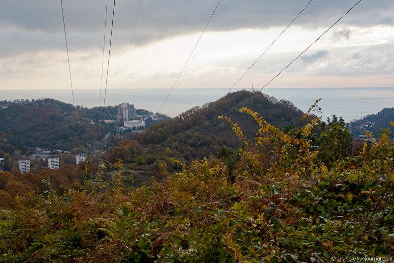 Поход 20.11.2011 Барановка - гора Успенка