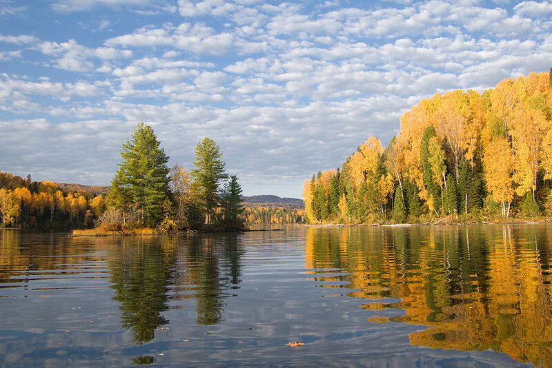 Озеро Тиберкуль.