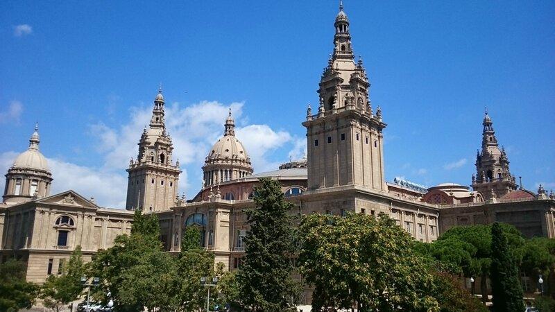 Дворец в Барселоне (Palace in Barcelona)