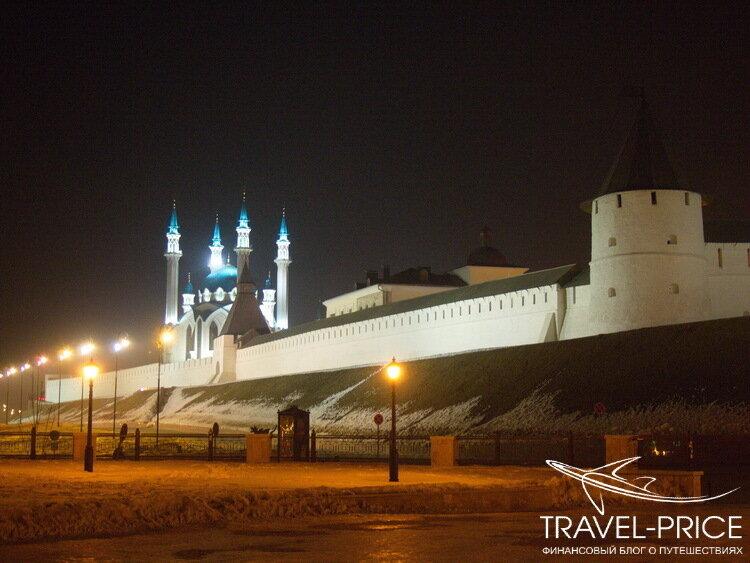 Ночь кремль Казань