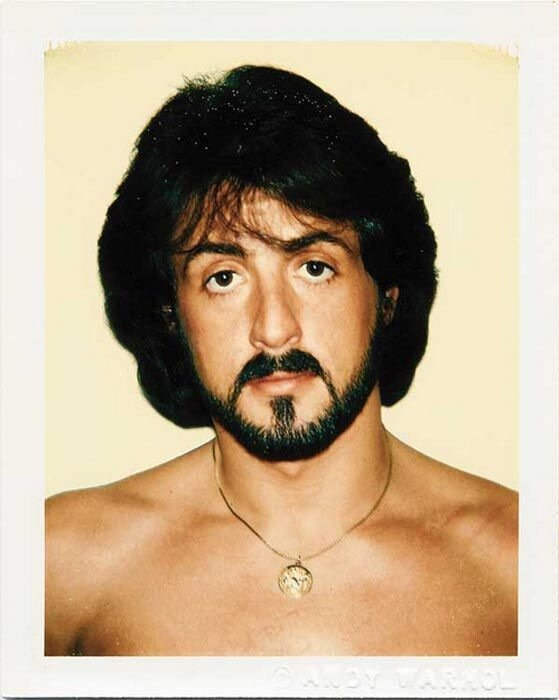 Sylvester Stallone by Andy Warhol