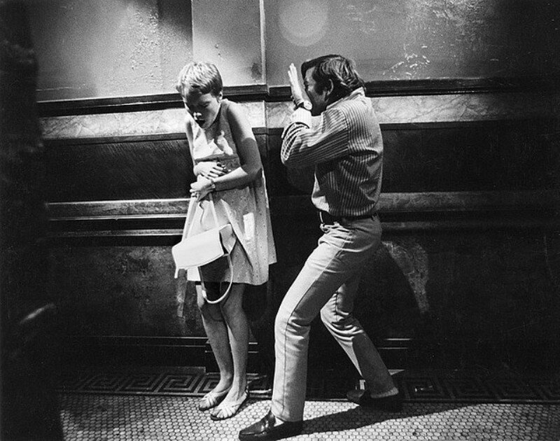 Polanski & Mia Farrow