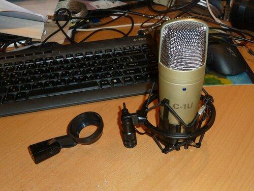 wts behringer condenser microphone c 1u. Black Bedroom Furniture Sets. Home Design Ideas