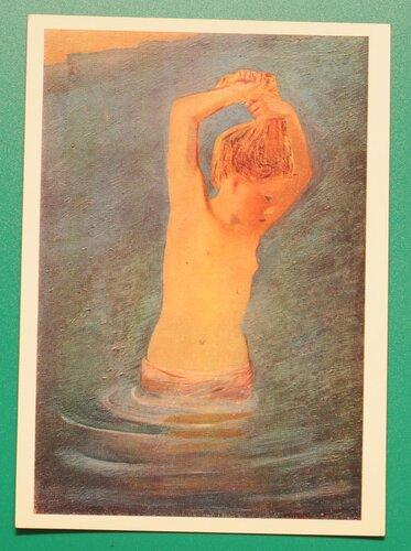 Купающаяся девочка. 1927