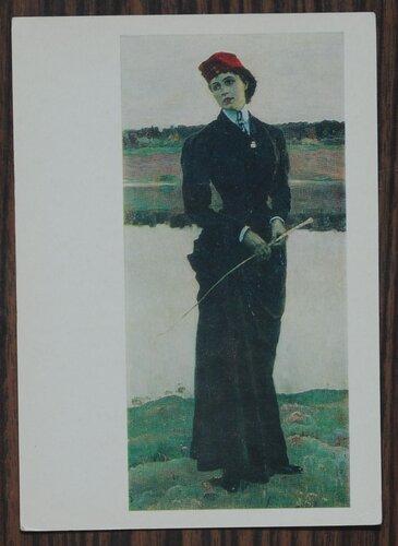 Портрет Ольги Михайловны Нестеровой. 1906.