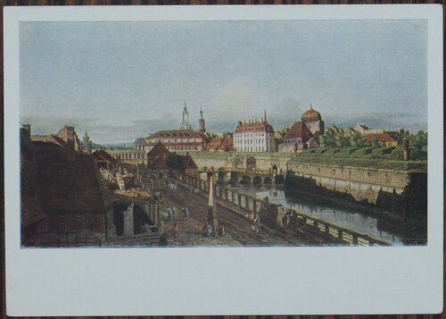 Старые укрепления Дрездена