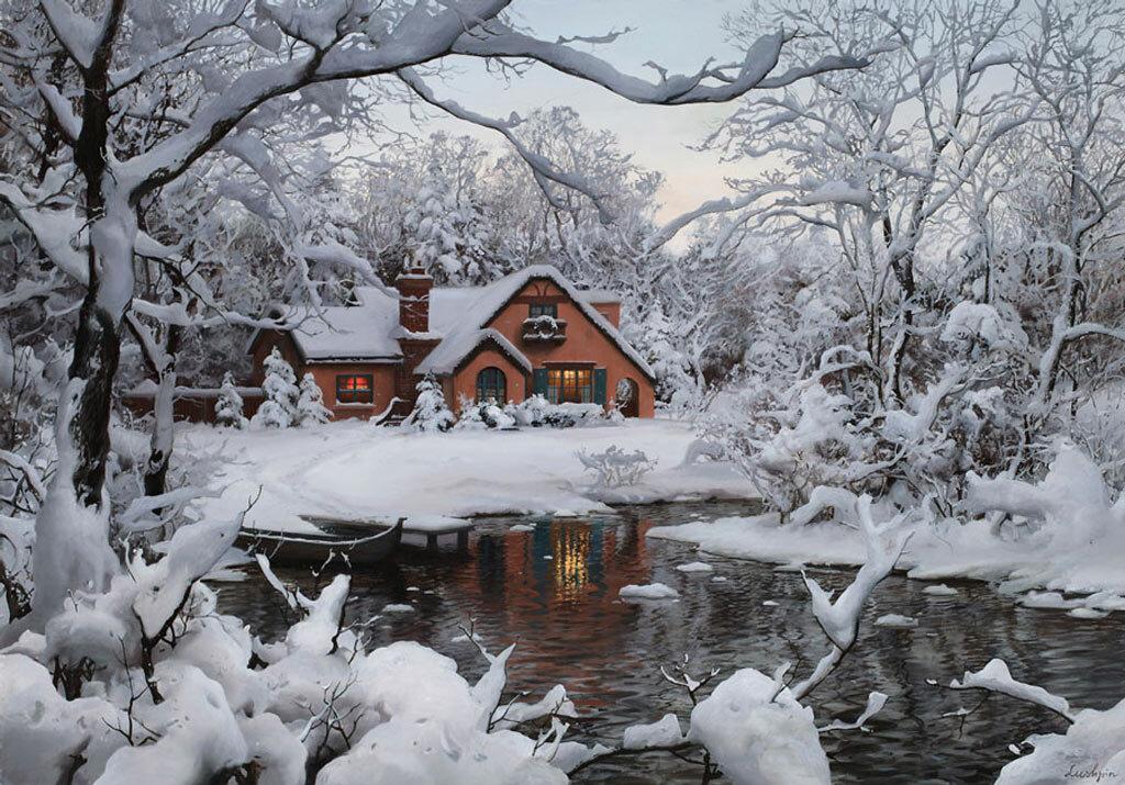 Живопись, зима.... Обсуждение на LiveInternet ...: www.liveinternet.ru/users/2676842/post195790195